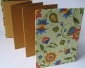 Brag Book for Wallet Size Photos. Fits in pocket or purse. VICTORIAN FLORAL