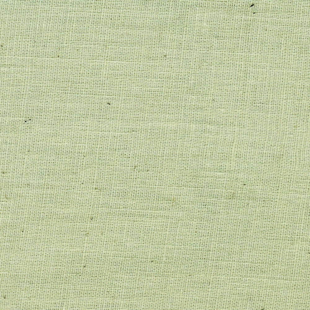 Organic cotton chambray green fabric by the yard for Cotton fabric by the yard