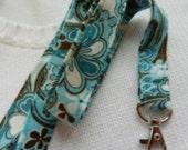 Fabric Lanyard, Badge ID Holder, Nurse Lanyard, Neck Lanyard, Cotton Fabric