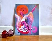 Orange Joy - Art Print