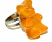 Orange teddy