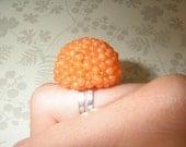 Orange Ball Ring