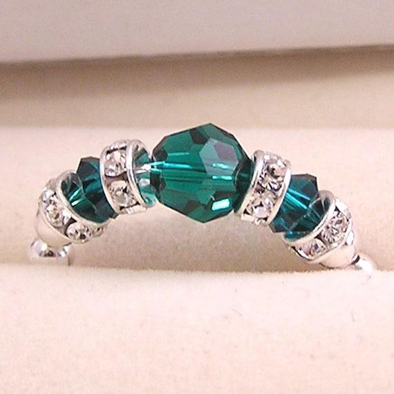 Sterling silver Birthstone ring