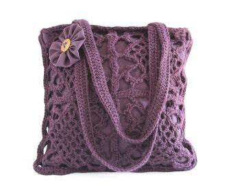 Crochet shoulderbag Alana