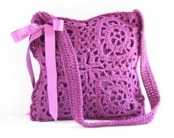 Crochet shoulderbag Polly