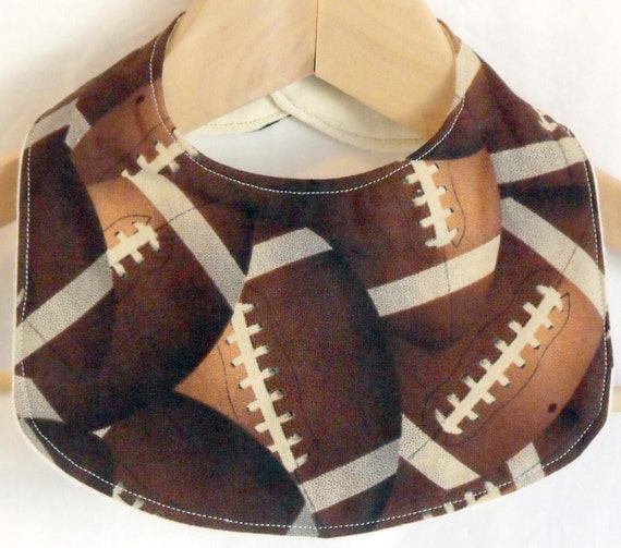 Football Drooler Bib