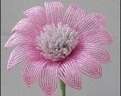 Pink Petals - Beaded Flower Tutorial
