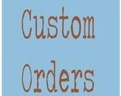 Custom Order for MEG - Red Zen - Scrabble Tile Pendant