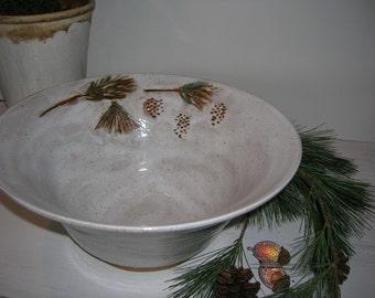 Pine Bough Bowl