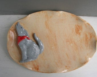 Howling Coyote Dish