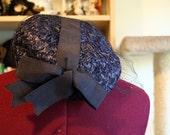 Sweet Woven Blue Hat