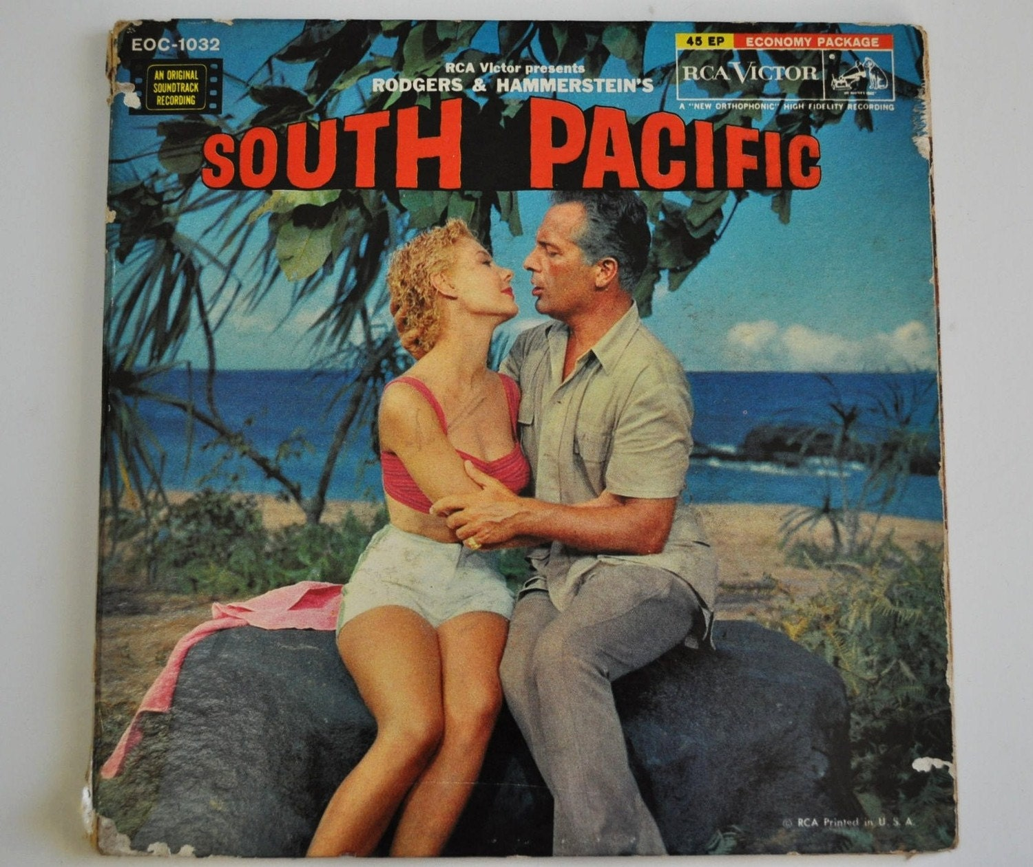 vintage south pacific vinyl recordsrogers and hammersteins
