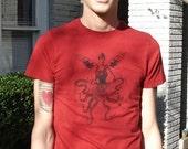 Octo-Lady Steam Punk Men's t-shirt