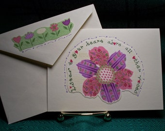NOTECARDS--Girl in the Garden-3