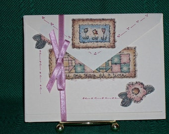 NOTECARDS--Quilting in Fabric Applique-2