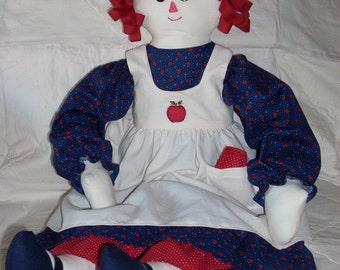 MADDIE--Raggedy Ann Doll