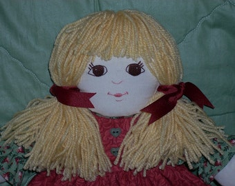 BETSY DOLL--with Big Brown Eyes