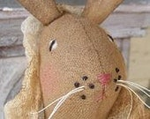 PDF Downloadable Pattern - Olivia Bunny and Her Basket E-Pattern - Hafair