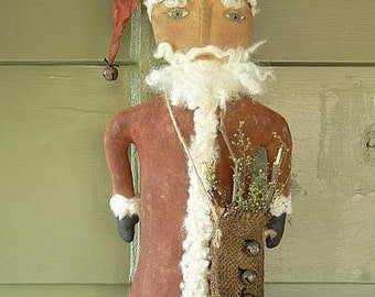 Santa Door Hanger E-Pattern