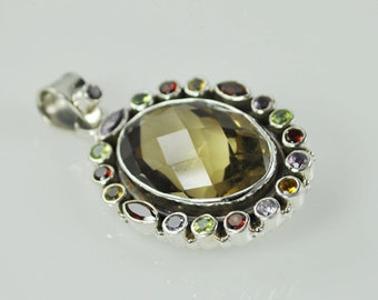 Semi Precious Stone Pendant