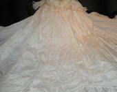 custom heirloom christening gown