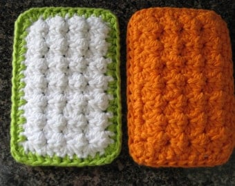 PATTERN - Cotton Crochet Cloth Sponge Scrubbies - PATTERN