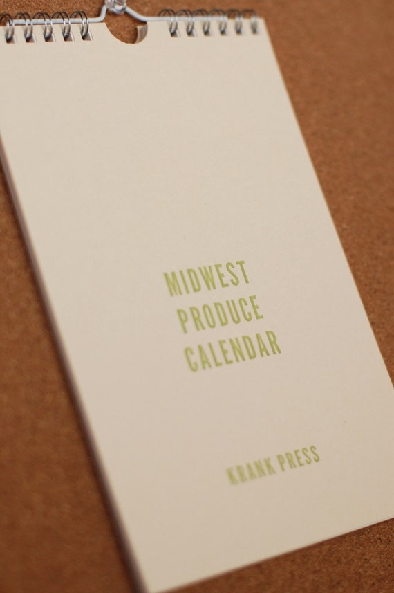 Midwest Produce Calendar