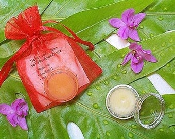 Grapefruit Solid Perfume with Jasmine Pikake perfume glace with Grapefruit Fragrance Solid Perfume Scent Made in Hawaii All Natural Base