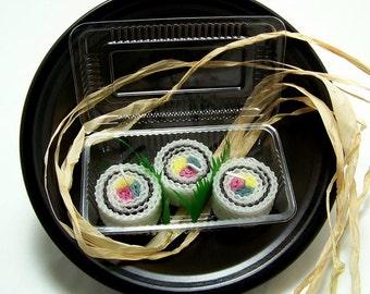 Sushi Roll California Candles Boxed Sushi Set Nori Maki Sushi Fun Sushi Play Sushi I Love Sushi Inside Out Sushi Rolls Eco Friendly Candles