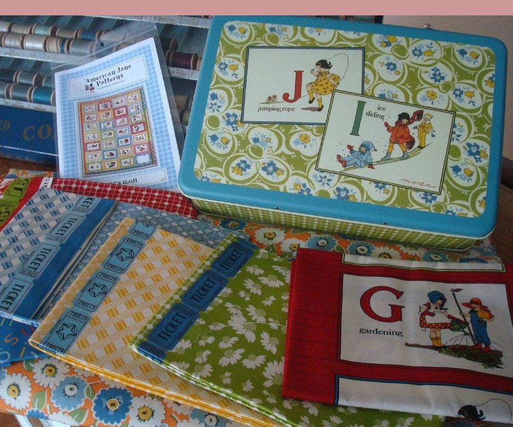 Make An American Jane Quilt Abc Quilt Kit