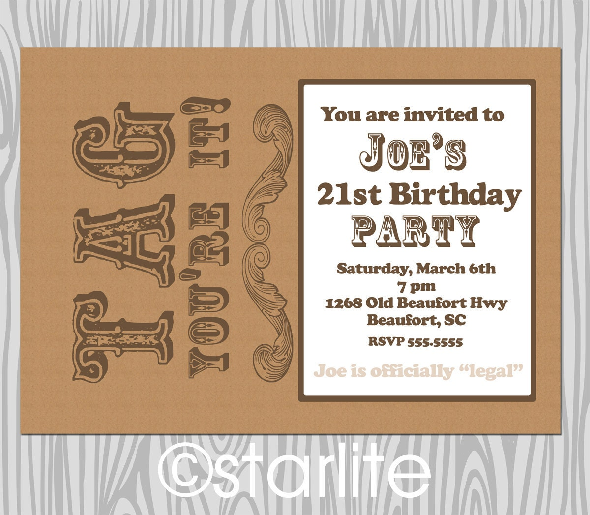 21St Birthday Invitations Male as perfect invitations layout