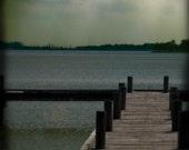 White Rock Lake Signed Original Fine Art Photograph 8x8