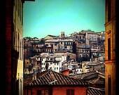 Siena - Original Signed Fine Art Photograph 8 x 8 - Julie Kruger