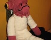 STAR WARS Admiral Ackbar Sock Monkey Knitting Pattern PDF
