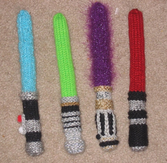 Star Wars Knitsabers Pattern PDF