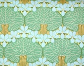 Amy Butler Midwest Modern Nouveau Trees Green Fabric 2 YARDS