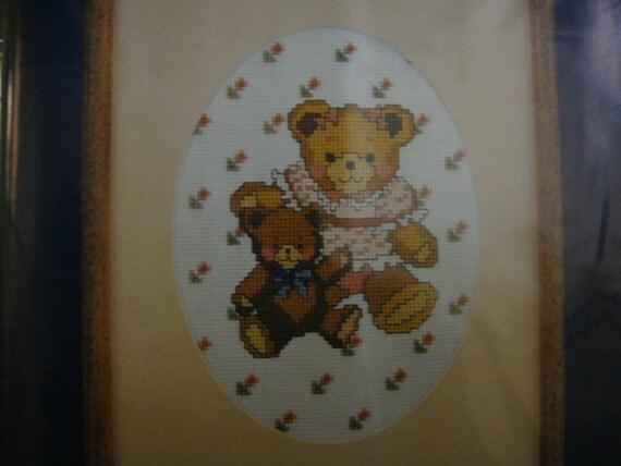 Bear Pals Counted Cross Stitch Kit