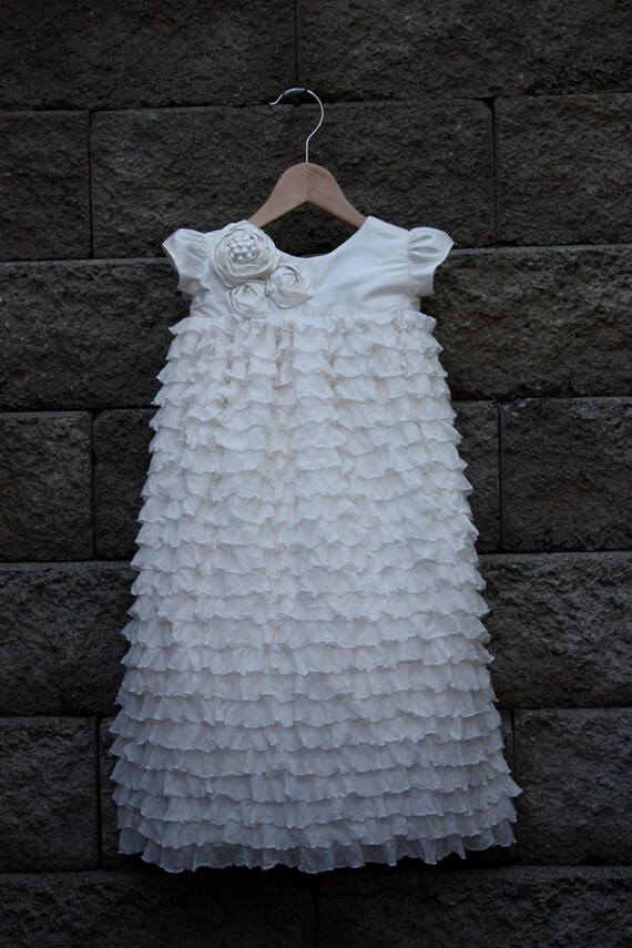Beautiful Blessing/Christening/Baptismal Ruth Gown-Reserved for jbarzee