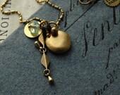 SALE Bundle of golden treasures necklace
