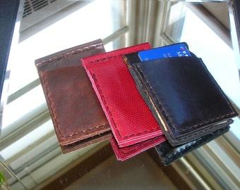Bifold Credit Card Holder / Money Clip