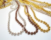 8 24inch 2mm Ball Chains...Free to a good home - pay shipping plus listing price only - (destash)