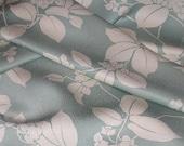 Vintage Japanese Kimono Silk Lovely Trailing Leaves & Flowers 60ins