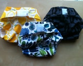 Reserved for katiefriesen- 4 Cloth Diaper Covers- Large