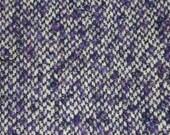 Purple Slub Wool Fabric