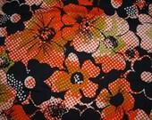 Black and Orange fabric