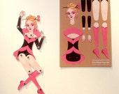 Circus Folk DIY Paper Doll, Valentina