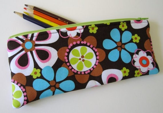 Pencil Pouch - Full Bloom