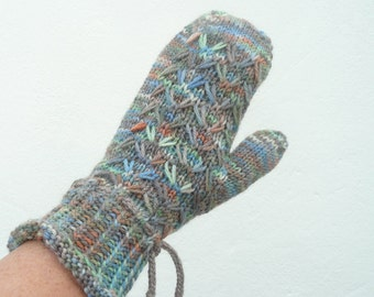 Knitting Pattern Mittens Gloves Wrist Warmers Marvellous Fitted Mitts