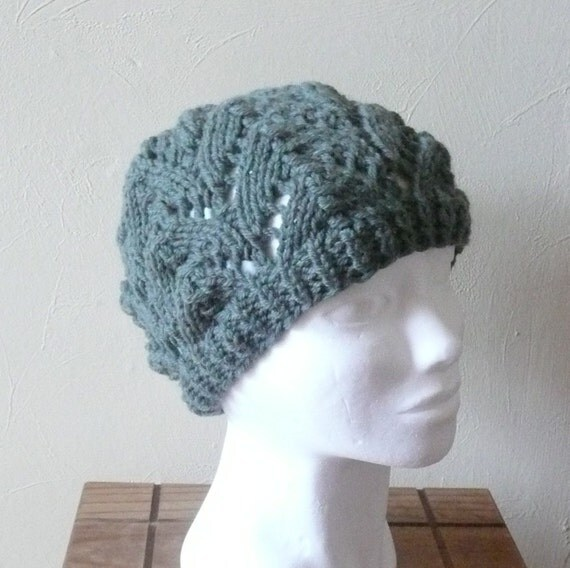 Knitting Pattern Hat Beanie - Kerry Slouchy Hat