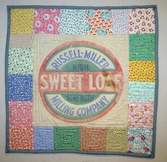Sweet Loaf Art Quilt